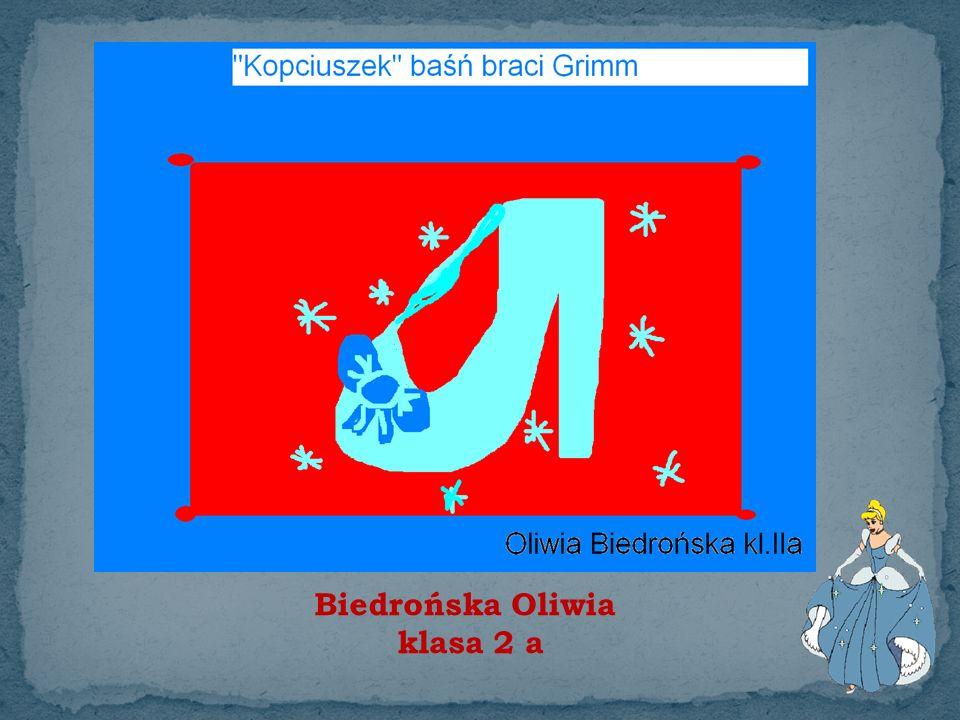 Biedrońska Oliwia klasa 2 a