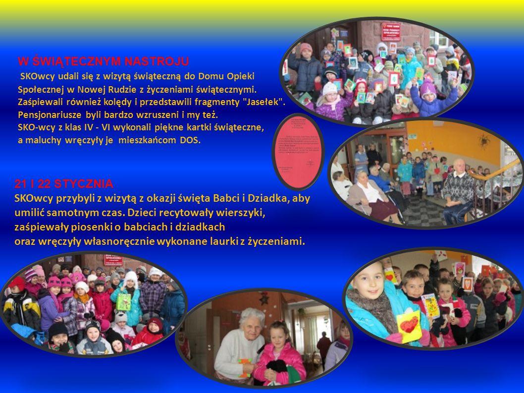 W ŚWIĄTECZNYM NASTROJU SKOwcy udali się z wizytą świąteczną do Domu Opieki Społecznej w Nowej Rudzie z życzeniami świątecznymi.