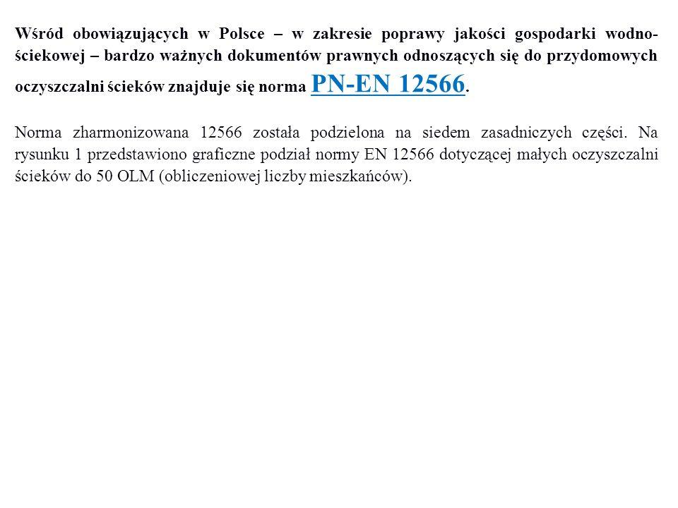 Wśród obowiązujących w Polsce – w zakresie poprawy jakości gospodarki wodno- ściekowej – bardzo ważnych dokumentów prawnych odnoszących się do przydom