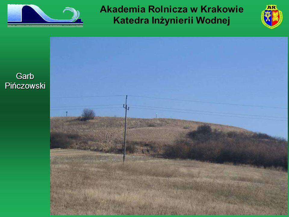 Garb Pińczowski Akademia Rolnicza w Krakowie Katedra Inżynierii Wodnej