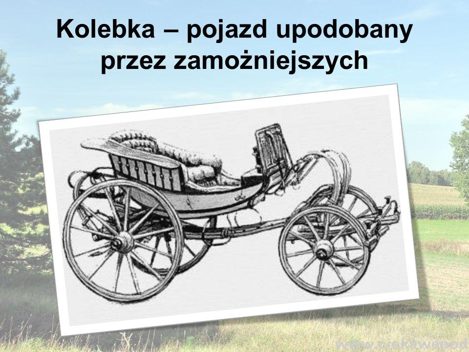 Kolasa lub kolaska - to gospodarski wóz transportowy, o drewnianych osiach, bez resorów.