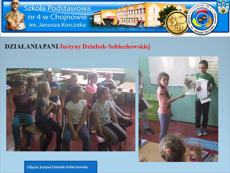 DZIAŁANIA PANI Justyny Dziubak-Sobiechowskiej Zdjęcia: Justyna Dziubak-Sobiechowska