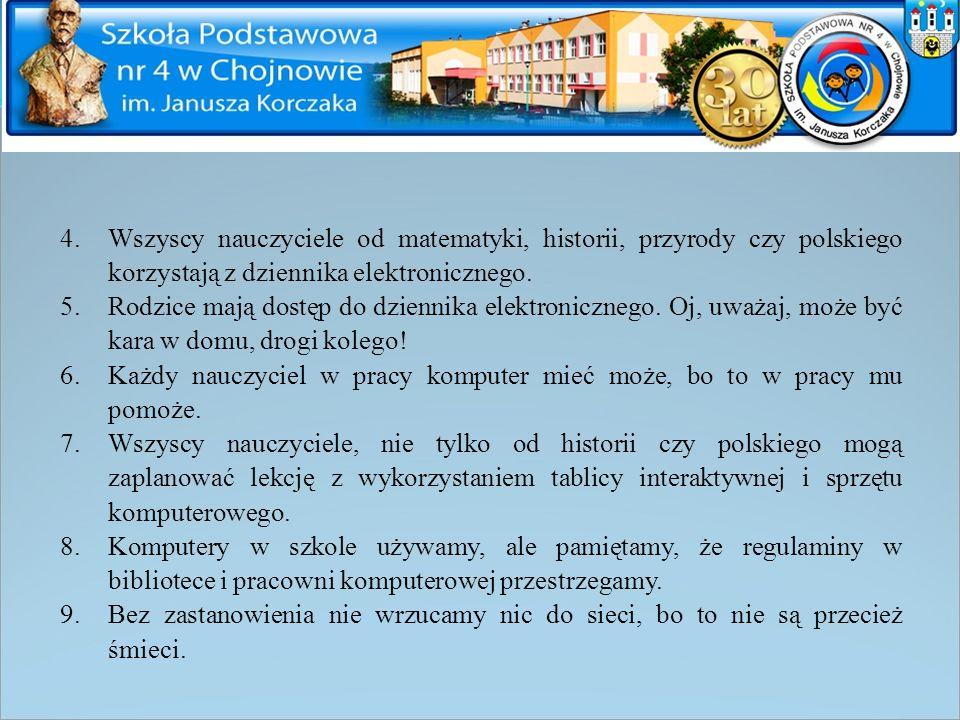 Zdjęcia plakatów wykonanych przez uczniów z SP 4 w Chojnowie, autor zdjęć: J. Dziubak-Sobiechowska