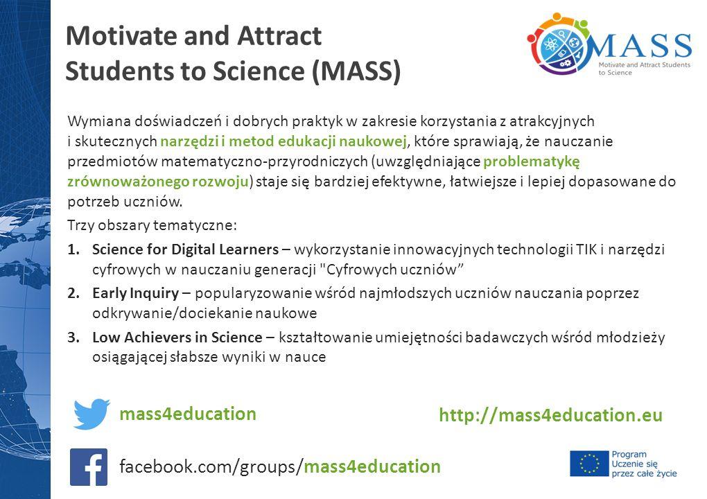 Wymiana doświadczeń i dobrych praktyk w zakresie korzystania z atrakcyjnych i skutecznych narzędzi i metod edukacji naukowej, które sprawiają, że nauczanie przedmiotów matematyczno-przyrodniczych (uwzględniające problematykę zrównoważonego rozwoju) staje się bardziej efektywne, łatwiejsze i lepiej dopasowane do potrzeb uczniów.