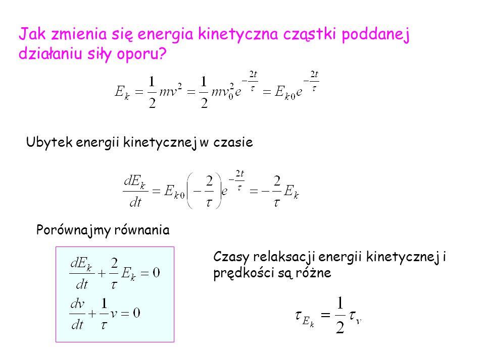Należy wyznaczyć amplitudę drgań wymuszonych A i przesunięcie fazowe między siłą a przemieszczeniem   - kąt o jaki maksimum przemieszczenia wyprzedza maksimum siły