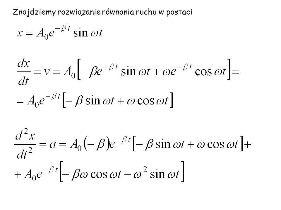 Porównanie prędkości w drganiach harmonicznych i tłumionych
