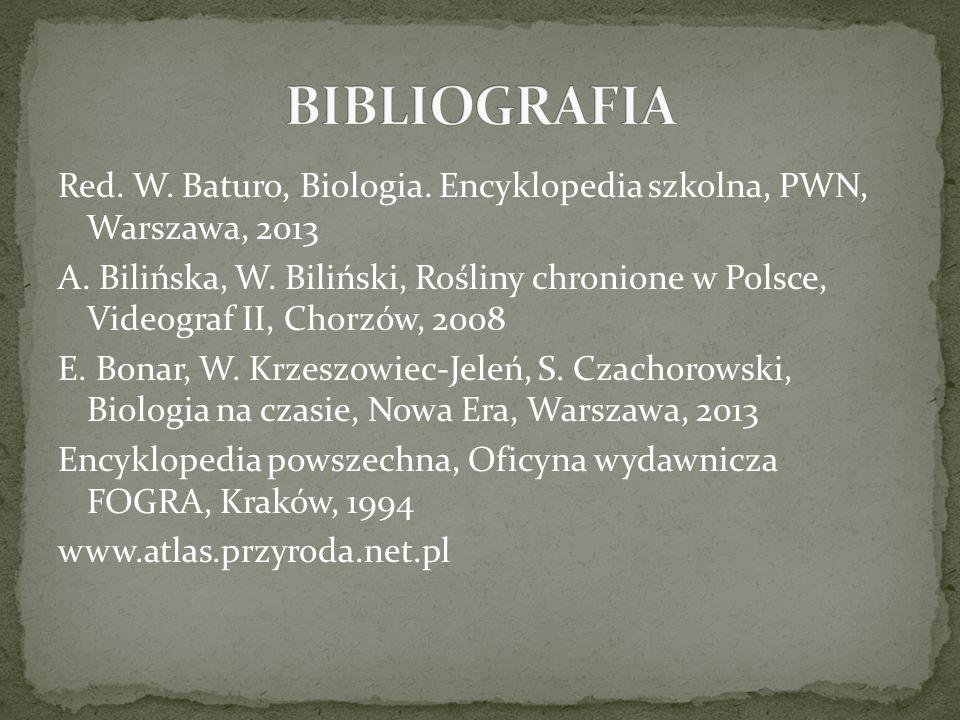 Red.W. Baturo, Biologia. Encyklopedia szkolna, PWN, Warszawa, 2013 A.