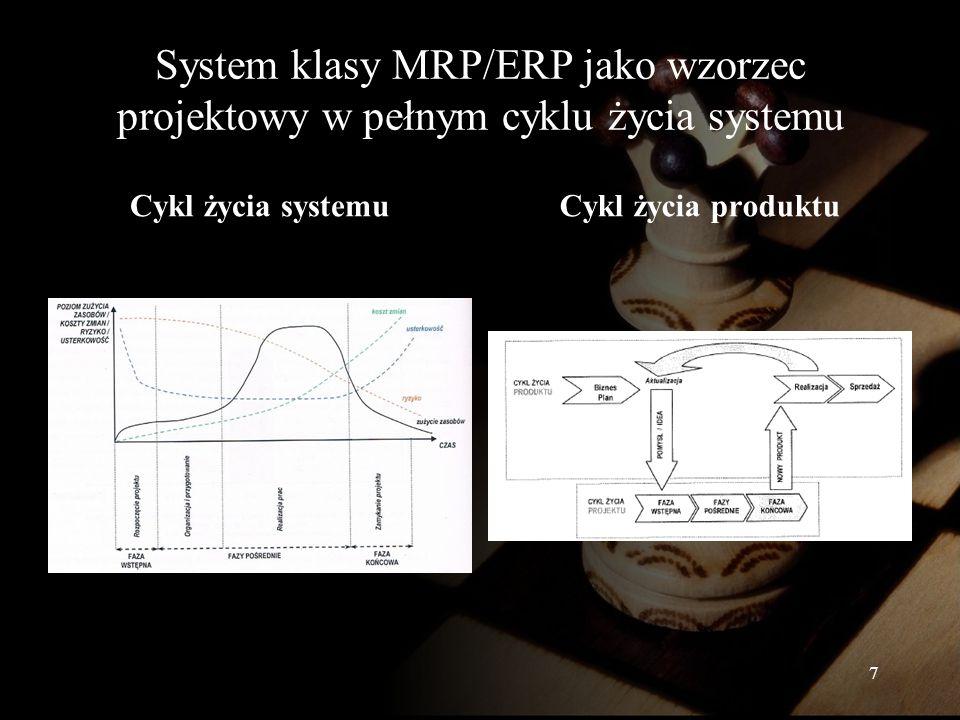 8 Porównanie przykładowych systemów klasy ERP