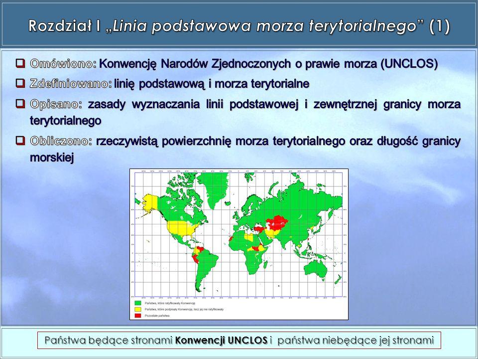 Państwa będące stronami Konwencji UNCLOS i państwa niebędące jej stronami