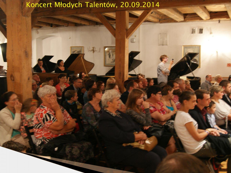 Koncert Młodych Talentów, 20.09.2014