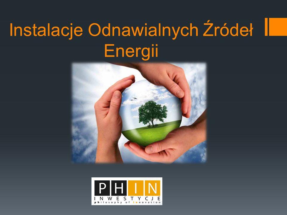 Instalacje Odnawialnych Źródeł Energii