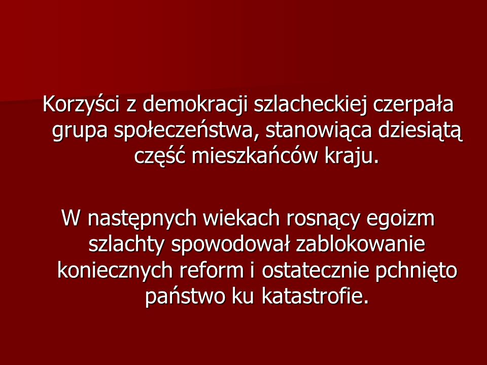 Rodzaje sejmów Sejm walny, Sejm walny, Sejm konwokacyjny – zawiązany po śmierci króla pod przewodnictwem prymasa wyznaczał czas i miejsce wolnej elekcji, Sejm konwokacyjny – zawiązany po śmierci króla pod przewodnictwem prymasa wyznaczał czas i miejsce wolnej elekcji, Sejm koronacyjny – odbywał się w Krakowie i kończył bezkrólewie, król elekcyjny zaprzysięgał artykuły henrykowskie i był koronowany, Sejm koronacyjny – odbywał się w Krakowie i kończył bezkrólewie, król elekcyjny zaprzysięgał artykuły henrykowskie i był koronowany, Sejm obozowy – w czasie zbierania pospolitego ruszenia, Sejm obozowy – w czasie zbierania pospolitego ruszenia, Sejm rokoszowy – w czasie zbrojnego wystąpienia przeciw królowi.