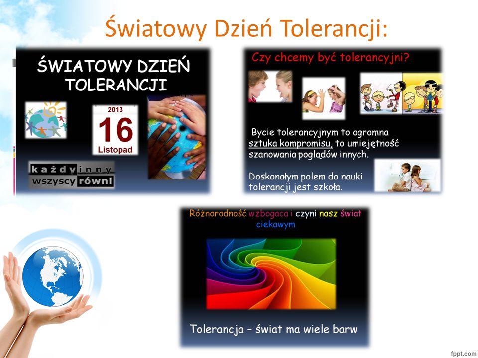 Światowy Dzień Tolerancji: