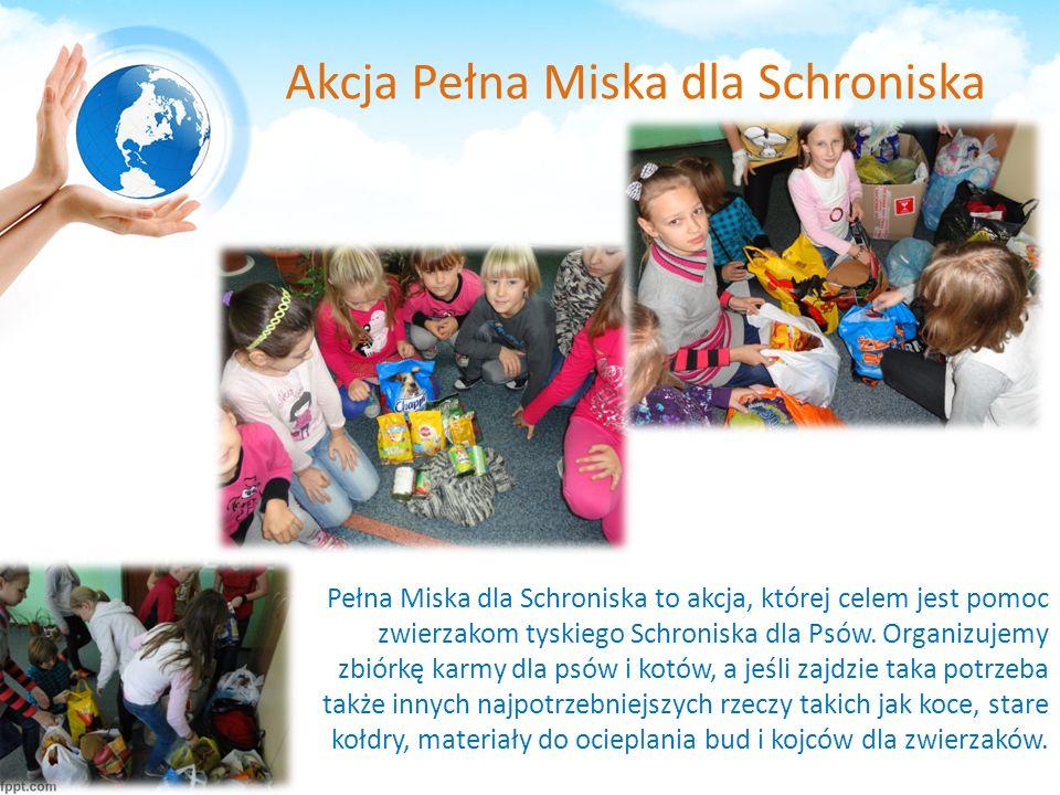 Akcja Pełna Miska dla Schroniska Pełna Miska dla Schroniska to akcja, której celem jest pomoc zwierzakom tyskiego Schroniska dla Psów.