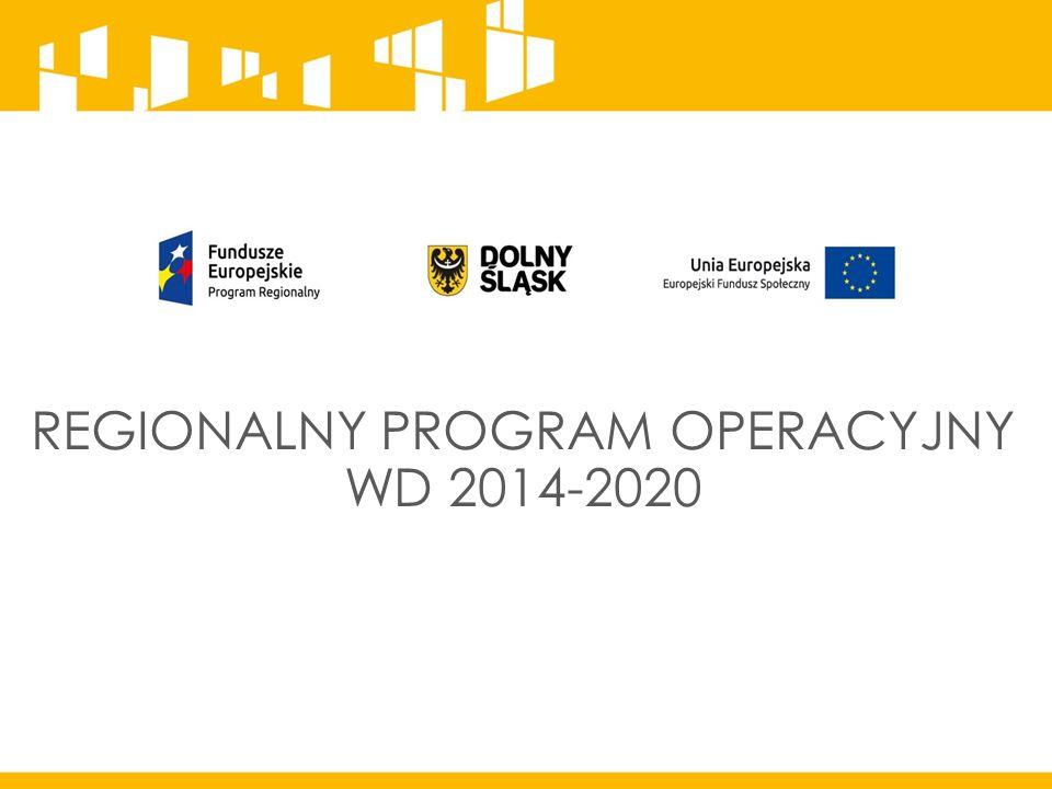 REGIONALNY PROGRAM OPERACYJNY WD 2014-2020