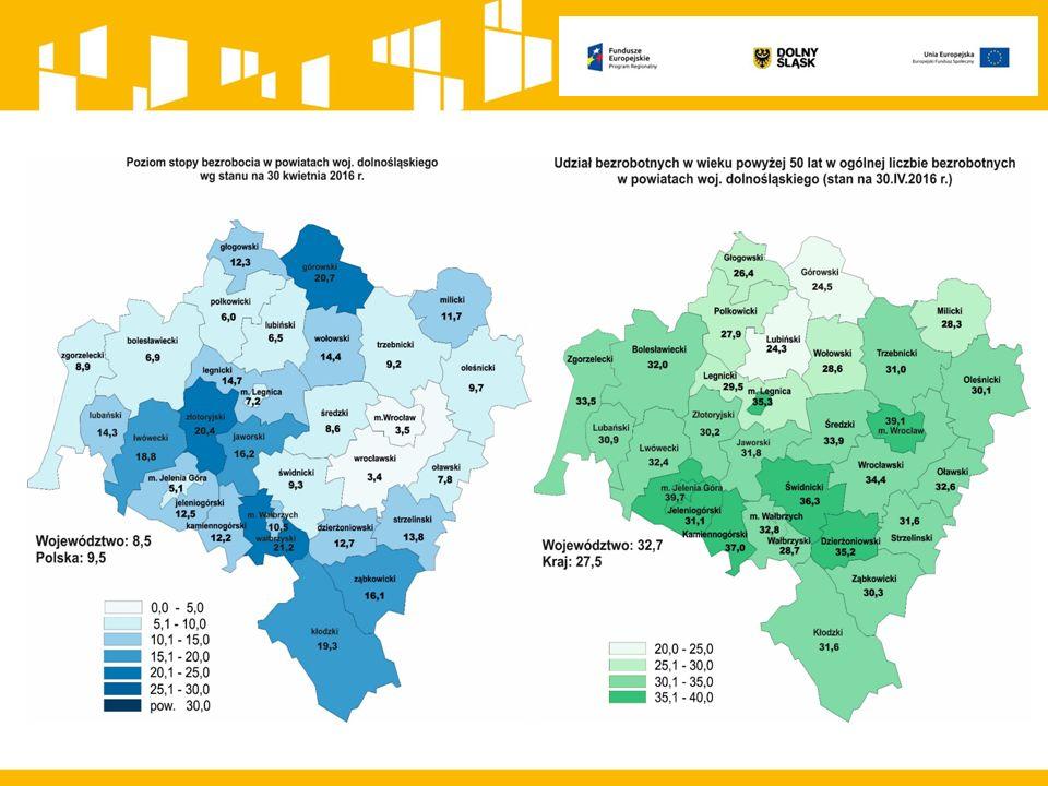 REGIONALNY PROGRAM OPERACYJNY WD 2014-2020 Działanie 8.1 pozakonkursowe projekty Powiatowych Urzędów Pracy oraz Działanie 8.2 Wsparcie osób poszukujących pracy Formy wsparcia Instrumenty i usługi rynku pracy służące zdobyciu doświadczenia zawodowego wymaganego przez pracodawców:  nabywanie lub uzupełnianie doświadczenia zawodowego oraz praktycznych umiejętności w zakresie wykonywania danego zawodu, m.in.