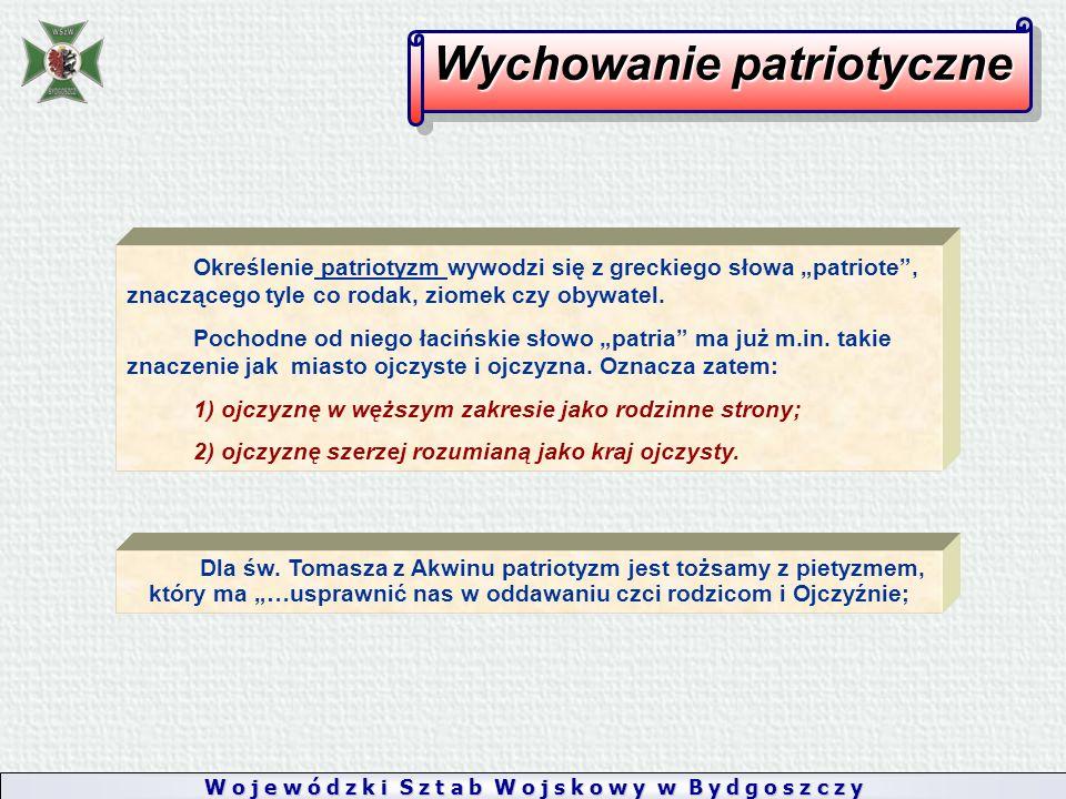 """Określenie patriotyzm wywodzi się z greckiego słowa """"patriote , znaczącego tyle co rodak, ziomek czy obywatel."""