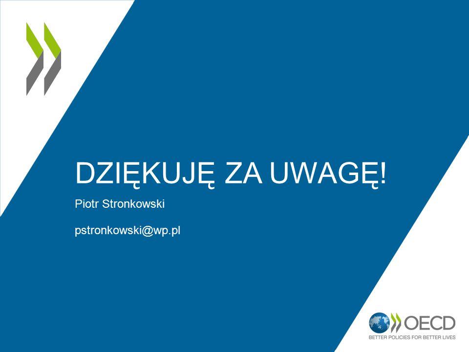 DZIĘKUJĘ ZA UWAGĘ! Piotr Stronkowski pstronkowski@wp.pl