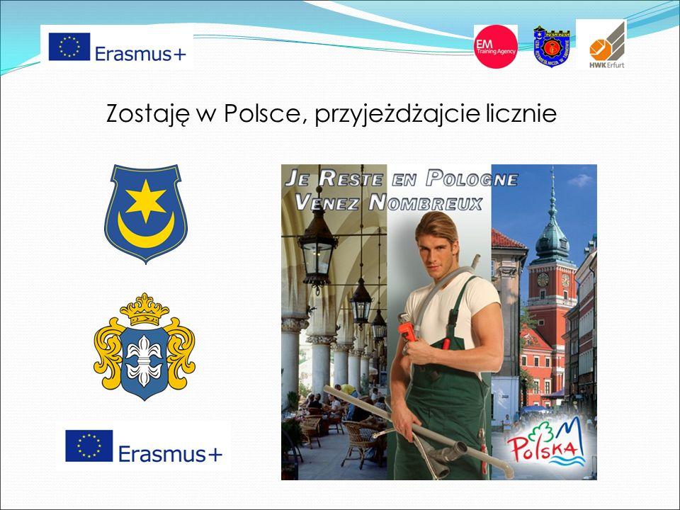 Zostaję w Polsce, przyjeżdżajcie licznie