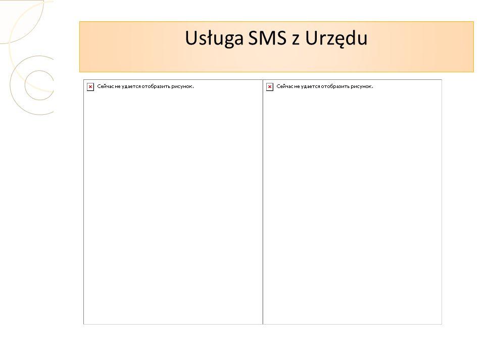 Usługa SMS z Urzędu