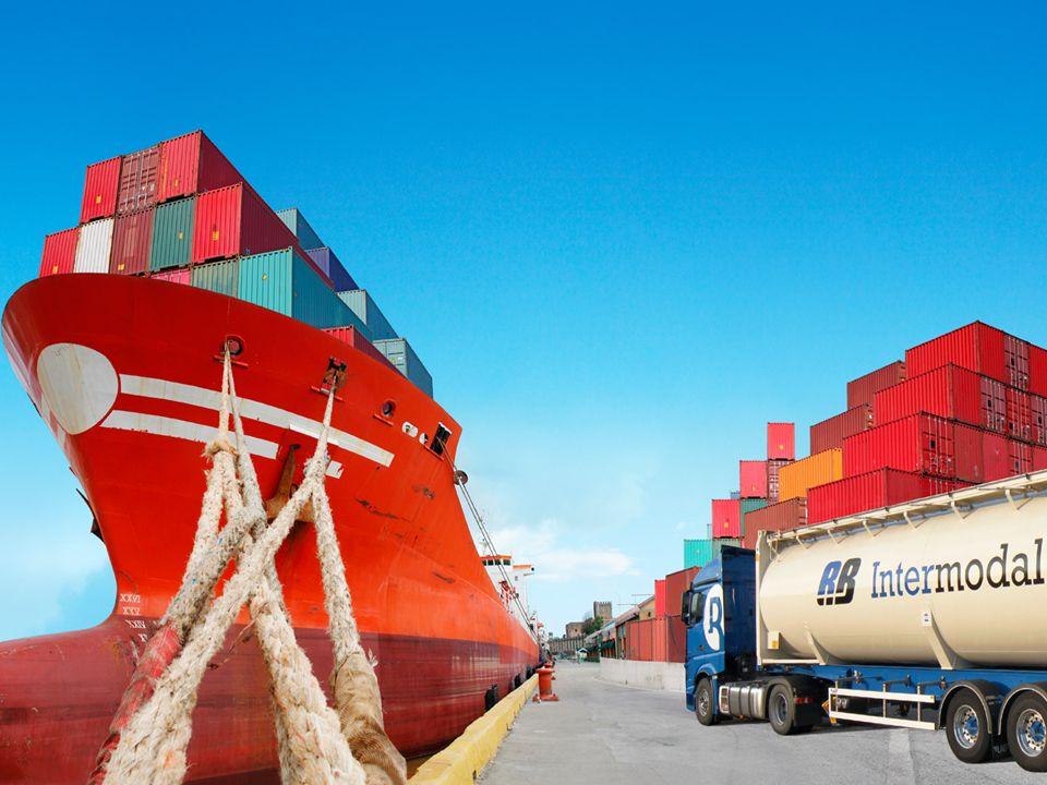 Transport intermodalny: to przewóz ładunków wykorzystujący więcej niż jeden rodzaj transportu.