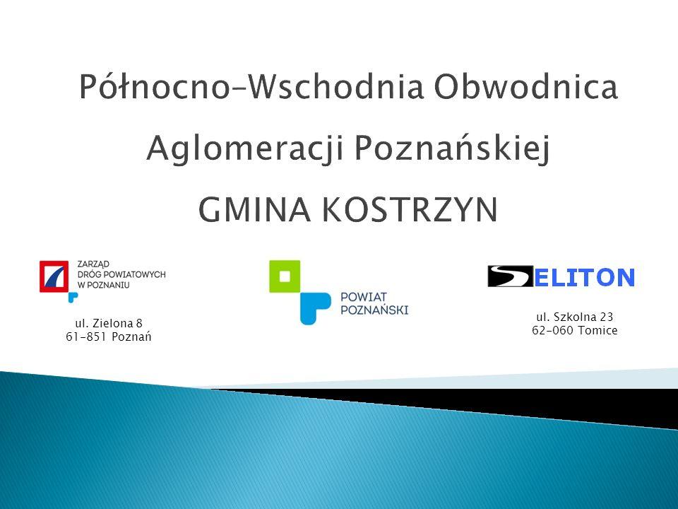 ul. Zielona 8 61-851 Poznań ul. Szkolna 23 62-060 Tomice