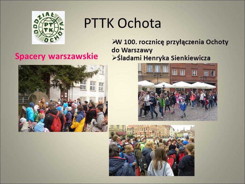 PTTK Ochota Spacery warszawskie  W 100.