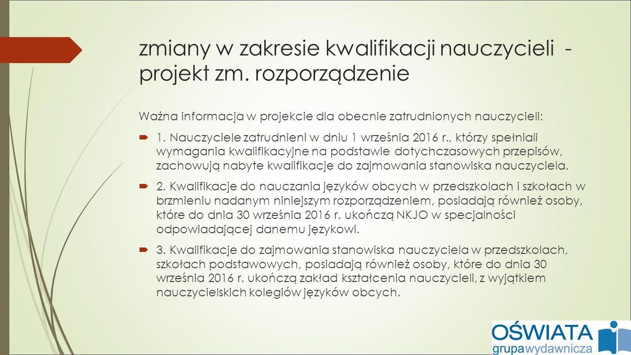 zmiany w statusie dyrektora od 1 stycznia 2017 r.- KARTA NAUCZYCIELA (Dz.