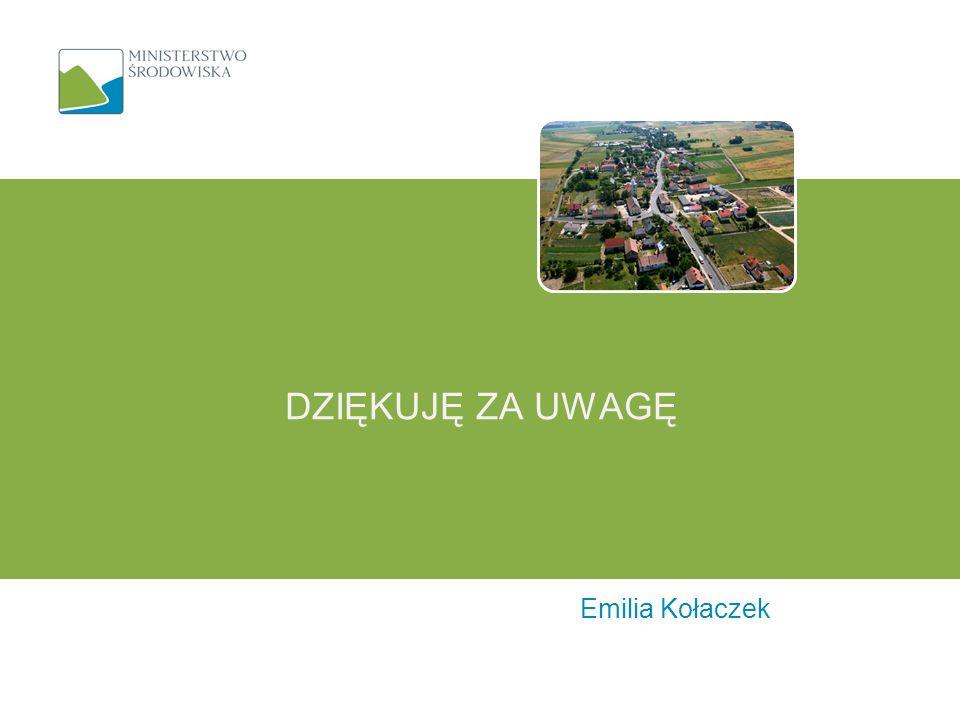 Emilia Kołaczek DZIĘKUJĘ ZA UWAGĘ