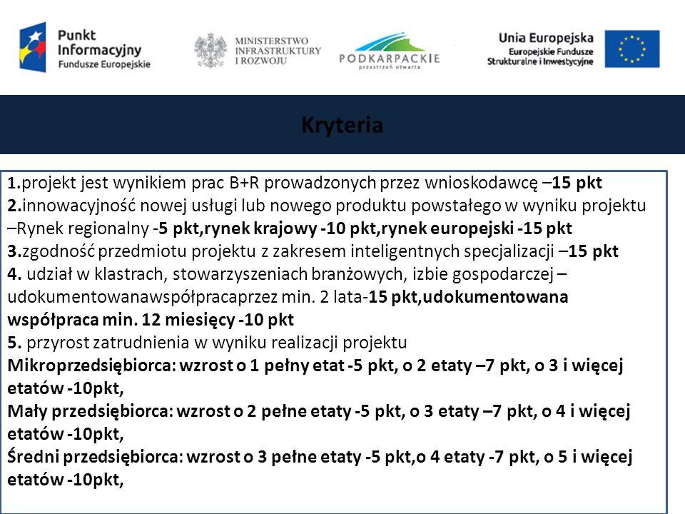 Kryteria 1.