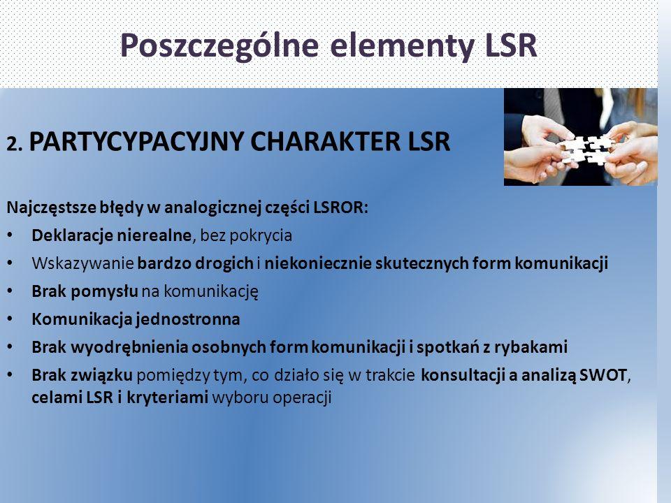 Poszczególne elementy LSR 2.