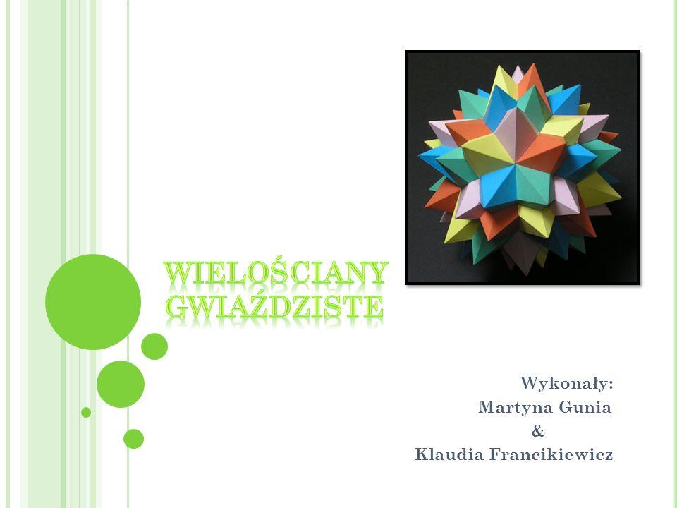Wykonały: Martyna Gunia & Klaudia Francikiewicz