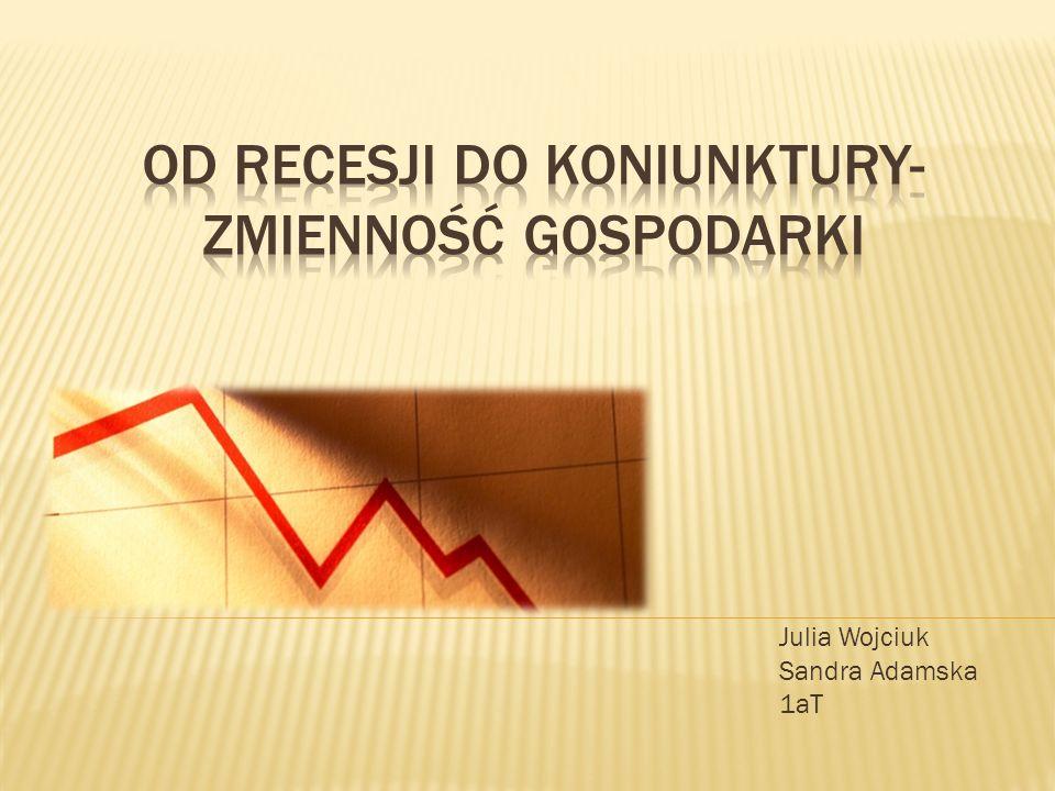 Zjawisko makroekonomiczne polegające na znacznym zahamowaniu tępa wzrostu gospodarczego skutkujące najczęściej spadkiem produktu krajowego brutto.