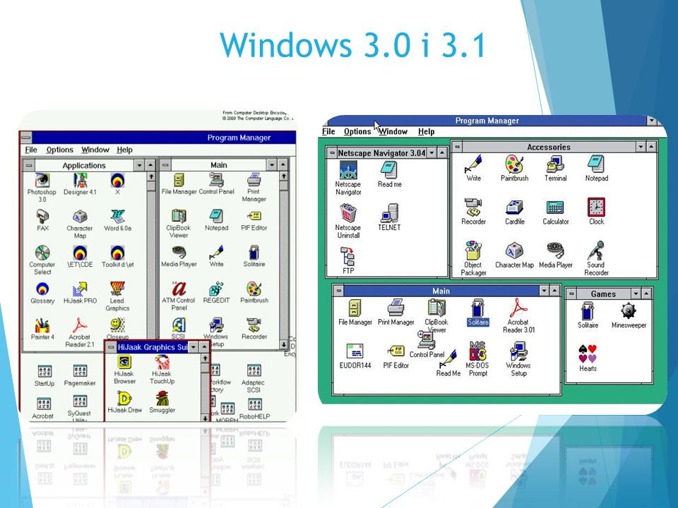 Windows 3.0 i 3.1