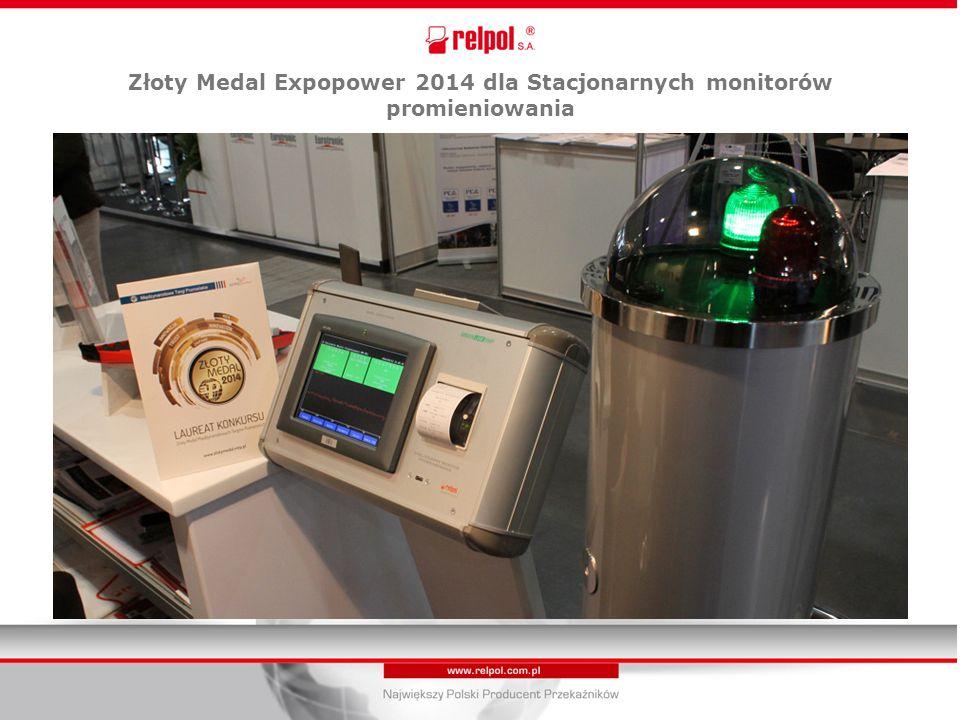 Złoty Medal Expopower 2014 dla Stacjonarnych monitorów promieniowania
