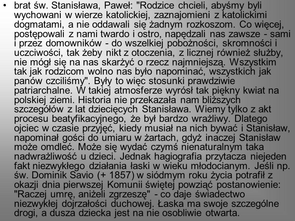 brat św. Stanisława, Paweł: