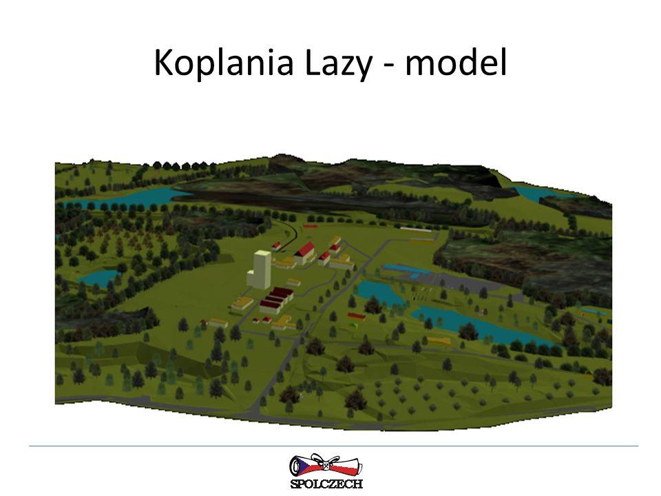Koplania Lazy - model