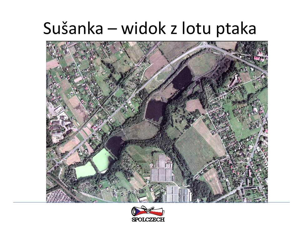 Sušanka – widok z lotu ptaka