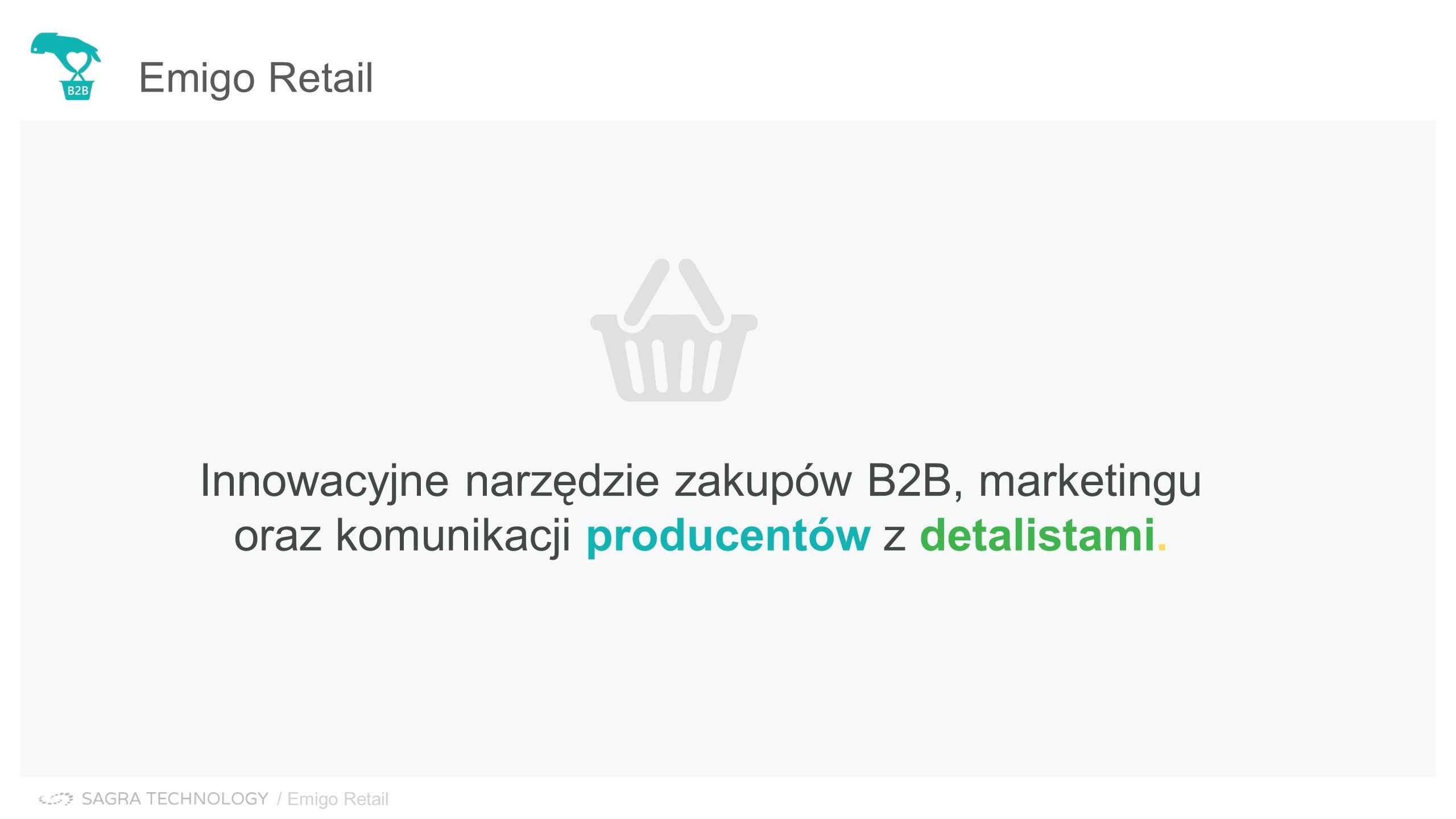 Innowacyjne narzędzie zakupów B2B, marketingu oraz komunikacji producentów z detalistami.