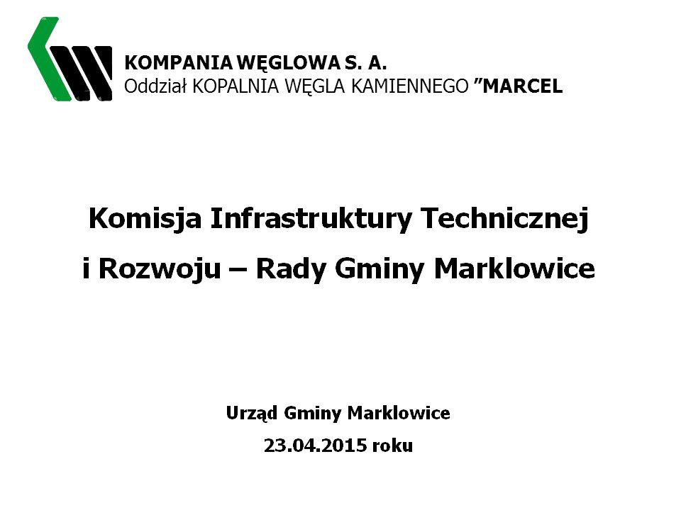 Plan i realizacja napraw szkód górniczych w Gminie Marklowice w 2014 roku