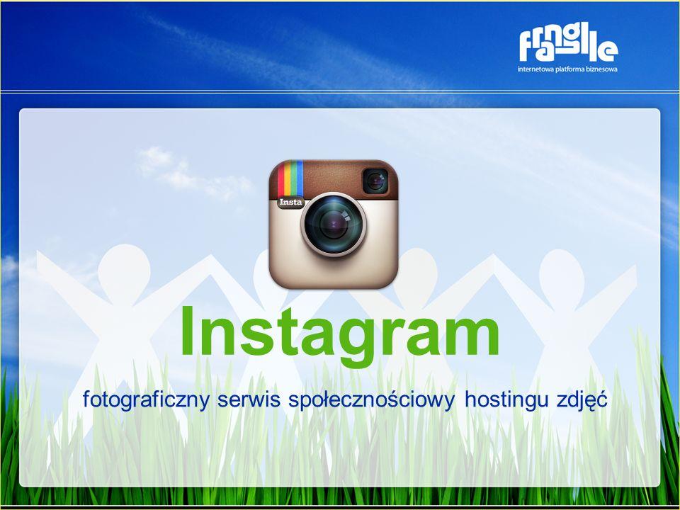 Instagram fotograficzny serwis społecznościowy hostingu zdjęć