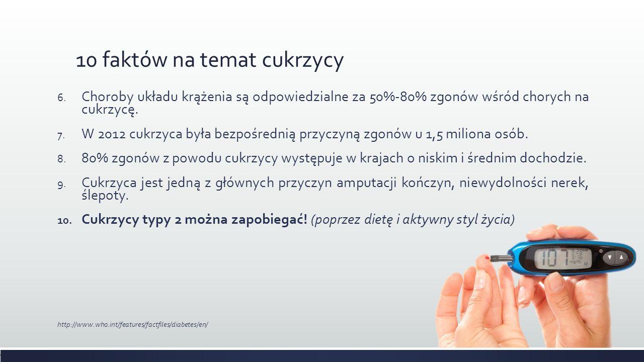 EPIDEMIOLOGIA - POLSKA  W Polsce jest 2,6 mln osób z cukrzycą, z czego aż 750 tysięcy nie zdaje sobie z tego sprawy.