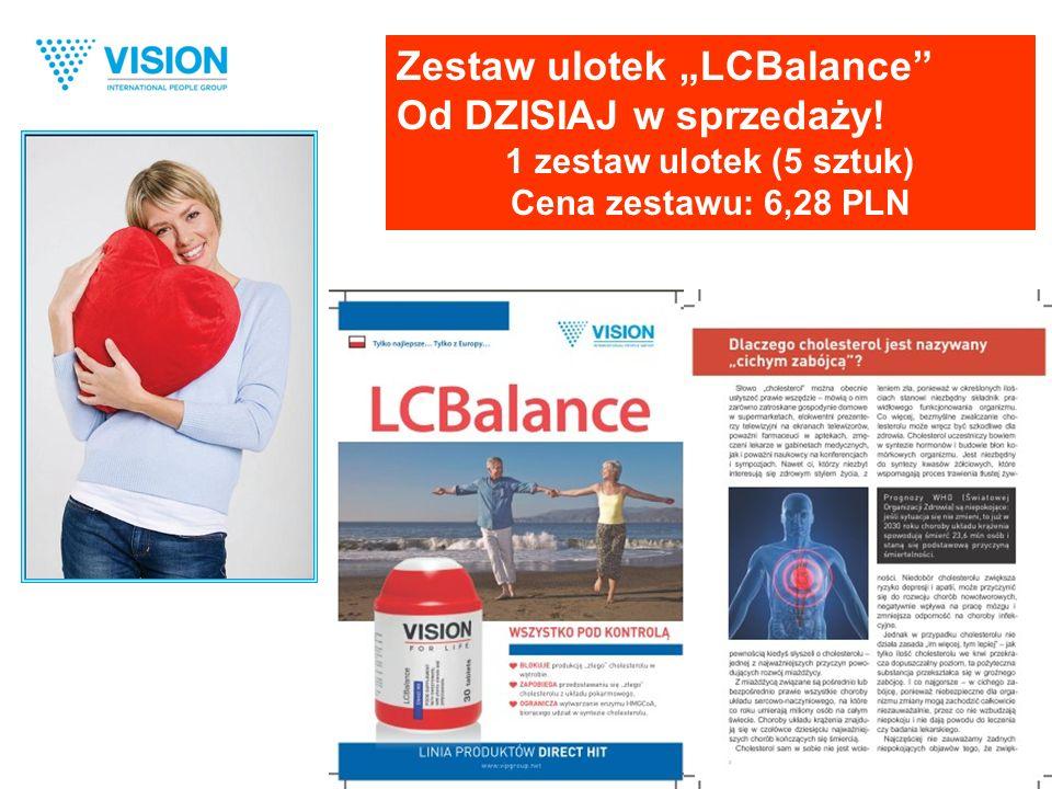 """Zestaw ulotek """"LCBalance Od DZISIAJ w sprzedaży! 1 zestaw ulotek (5 sztuk) Cena zestawu: 6,28 PLN"""