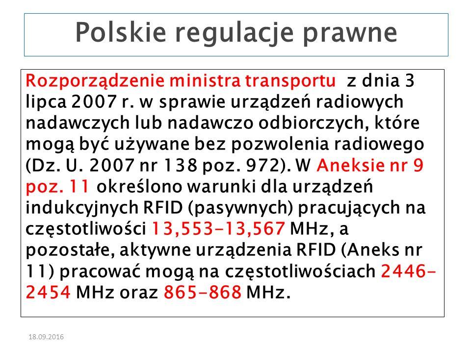 18.09.2016 Rozporządzenie ministra transportu z dnia 3 lipca 2007 r.