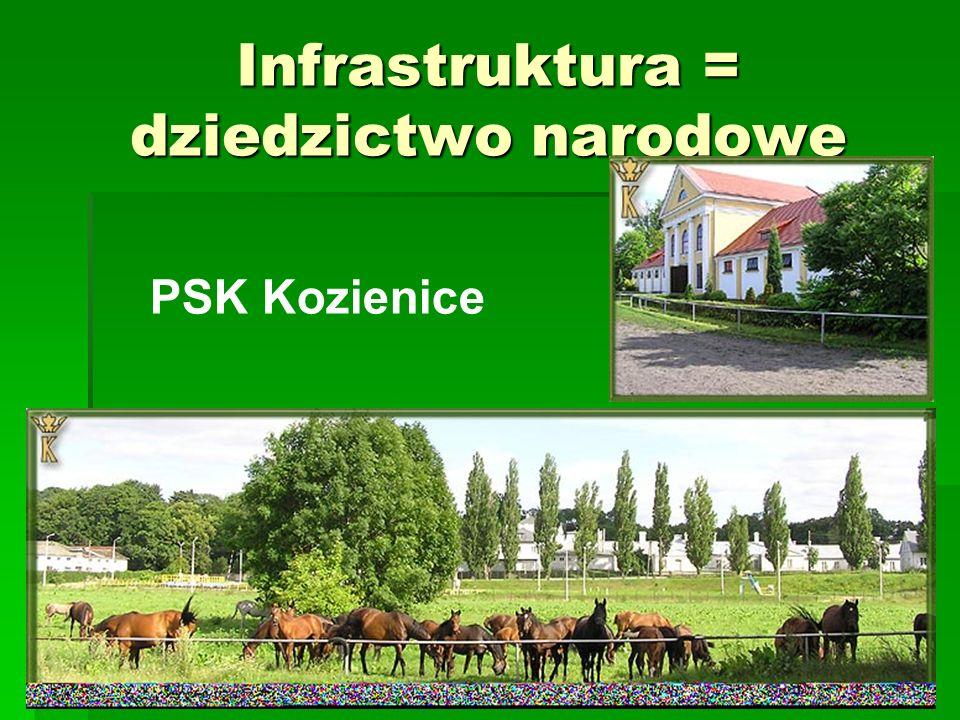 Infrastruktura = dziedzictwo narodowe PSK Kozienice