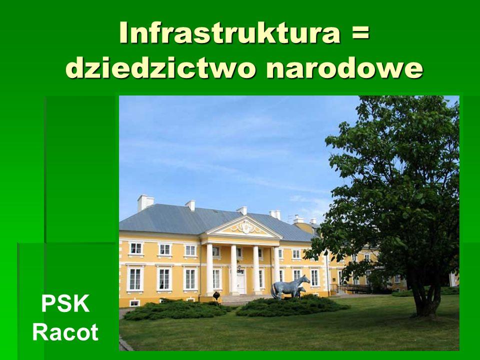 Infrastruktura = dziedzictwo narodowe PSK Racot