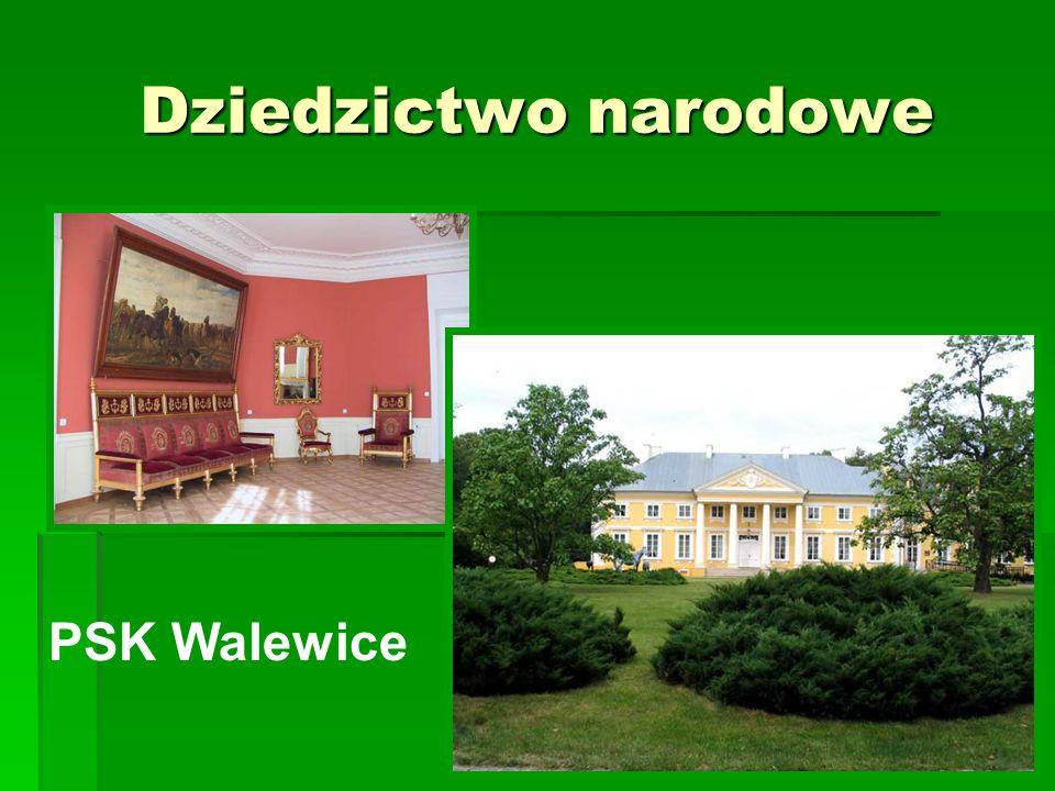 Dziedzictwo narodowe PSK Walewice