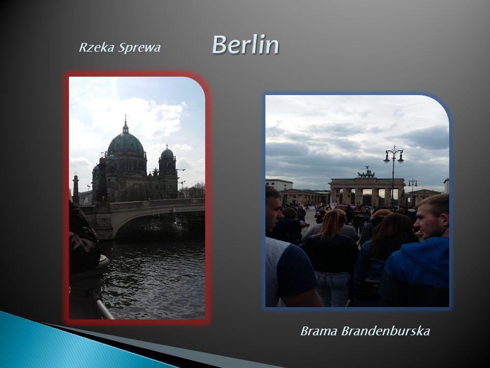 Rzeka Sprewa Brama Brandenburska