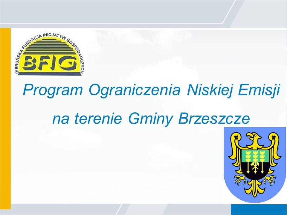 Program Ograniczenia Niskiej Emisji na terenie Gminy Brzeszcze