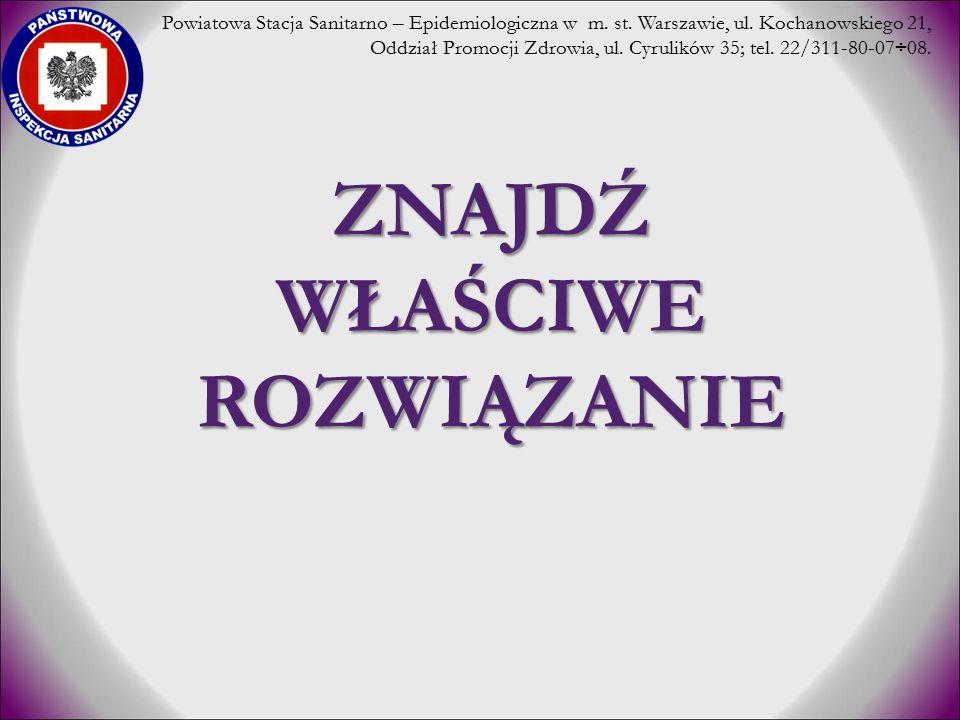 ZAJĘCIA WARSZTATOWE – WARSZTAT II c.d.